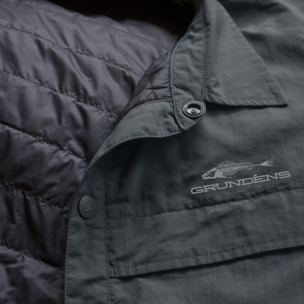 Dawn Patrol Jacket Front Dark Slate Detail 4