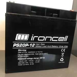 Ironcell 12V 20 Ah High rate svina-skābes akumulators