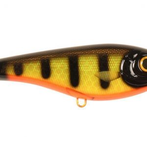 0008126 Buster Jerk Black Okoboji Perch
