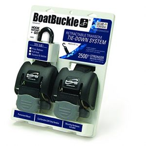 Boatbuckle G2 Retractable Transom Tie Downs Stainless Steal 2