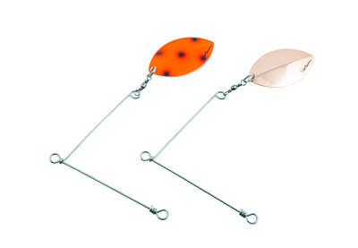 Spinner Rig Large 2 Pack Copper Fluo. Red Bandit