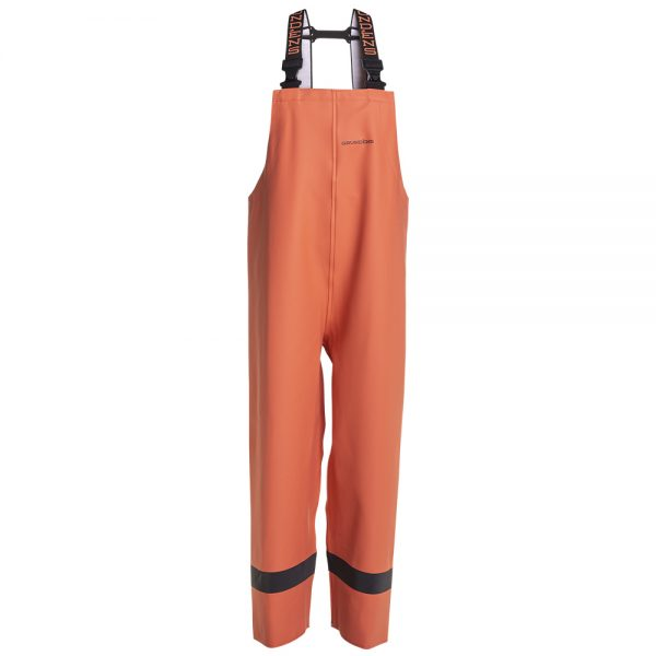 Womenssednabibtrouser510 Orange Front