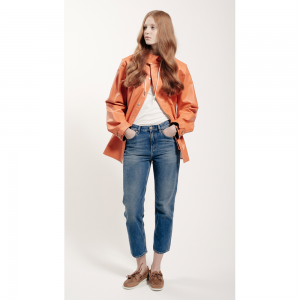 Lietus mētelis Grundens Womens Brigg Jacket Orange
