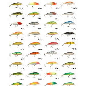 Vobleris Vivingra FLG 55 F/viss spiningam/seatrout fishing/salmon fishing/māneklis/fishing lures/pike/perch/trout/stream/lašu spiningošana