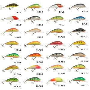 Vobleris Vivingra FLG 50 F/viss spiningam/seatrout fishing/salmon fishing/māneklis/fishing lures/pike/perch/trout/stream/lašu spiningošana