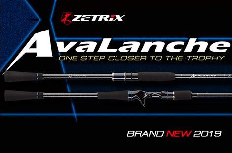 Spinings Zetrix Avalanche ZAS-772L 2,13 m,tests 38 gr stream fishing/tvičam/lake/universāls/spinings džigam/all round fishing/spining rods