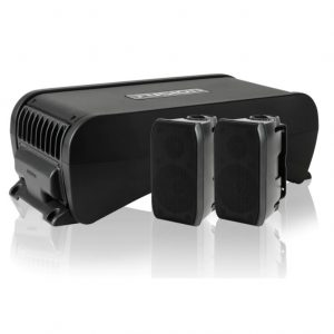 Active Subwoofer With In Built 4 Channel Amplifier